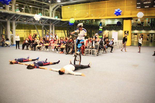 inauguracion olimpiadas con show extremo 14