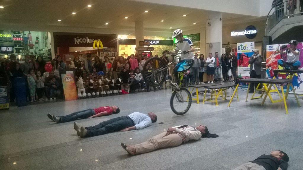 Pacho Villegas en su show extremo